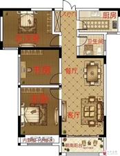 准新房,未来黄金地段金桂园3室2厅1卫44万元