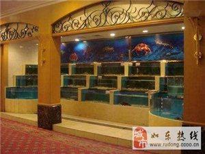 南通专业酒店、超市鱼缸设计制作 家庭观赏鱼缸私人订