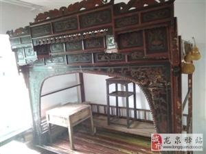 百年老雕花地主床2-5床,可议价
