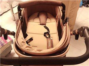 出售95新贝丽可婴儿推车可坐可躺折叠轻便携带减