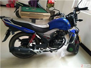 出售蓝色豪爵125摩托(可议价)
