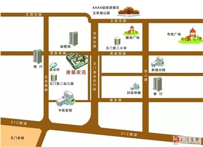 楼盘地理位置图