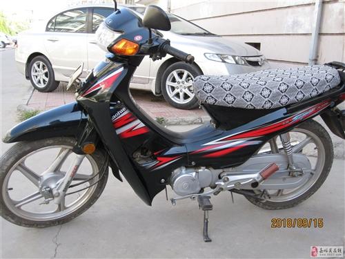 出售豪爵110弯梁摩托车