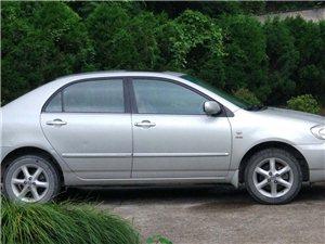 出售丰田花冠GLX-i1.8升排量自动挡轿车一辆