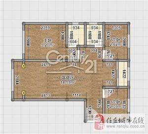 凯旋城3室2厅2卫118万元
