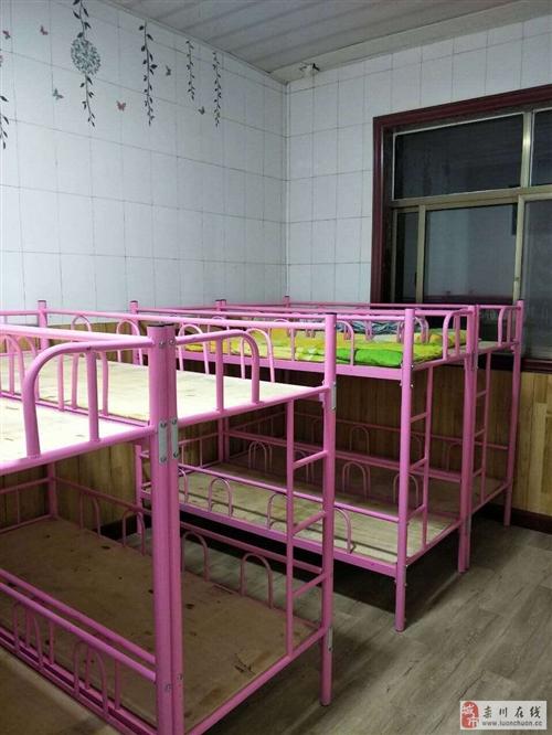 出售小学辅导班上下铺床