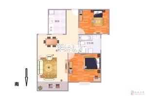上和家园毛坯2室2厅1卫43万元