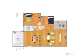 和平尚城2室2厅1卫57万元