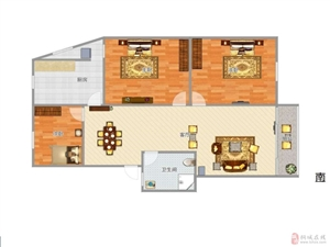 实验小学二中边金文苑精装三房钻石四楼免税房子保养好