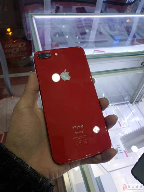 苹果8P,中国特供红,256GB