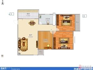 明珠广场,实验中学正对面,电梯12层,精装三室!!