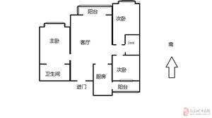 雁翎西苑3室2厅2卫140万元