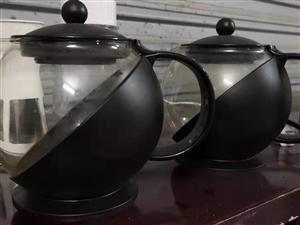 【二手市场】低价出售二手茶壶一对,非常实用,