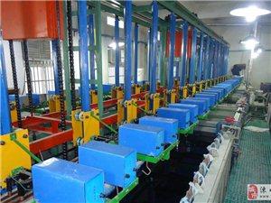 垂直升降式電鍍生產線