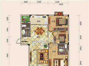 建筑面积约125.6平方