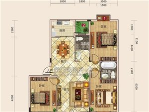 建筑面积约135.85平方