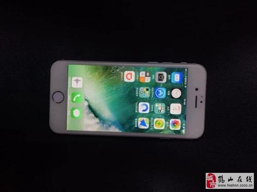 个人出二手苹果6手机一台,银色,64G内存,九成新