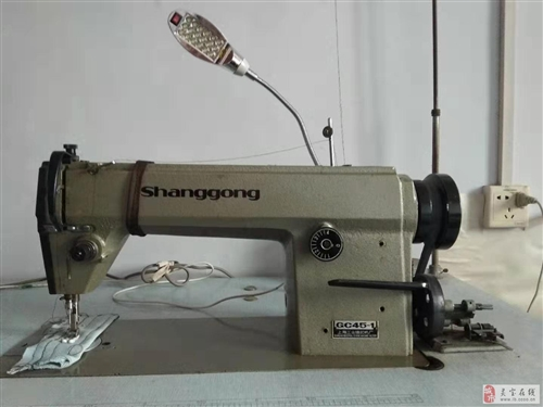 出售一台九成新中速工业平缝缝纫机