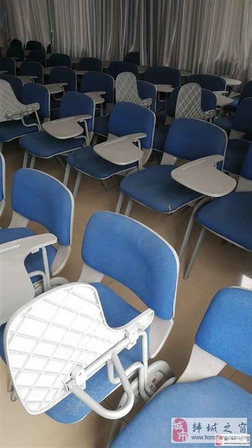 現出售一批七成新的藍色靠背椅,可用于辦公,家政,教
