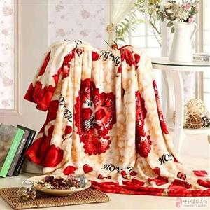毛毯�空调毯子法兰绒毛毯单人双人盖毯床单(看图)