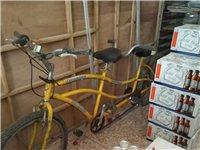 出售双人自行车一台