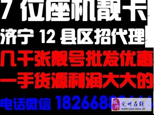 济宁邹城曲阜泗水金乡梁山汶上联通7位座机手机卡批发