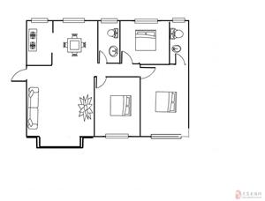 碧桂园3室2厅2卫107万元