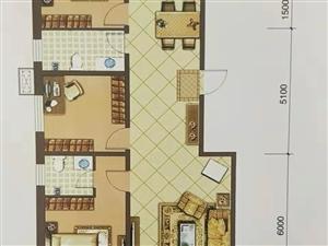 融城花园3室2厅2卫114万元