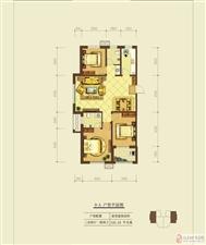 融城花园3室2厅2卫112万元