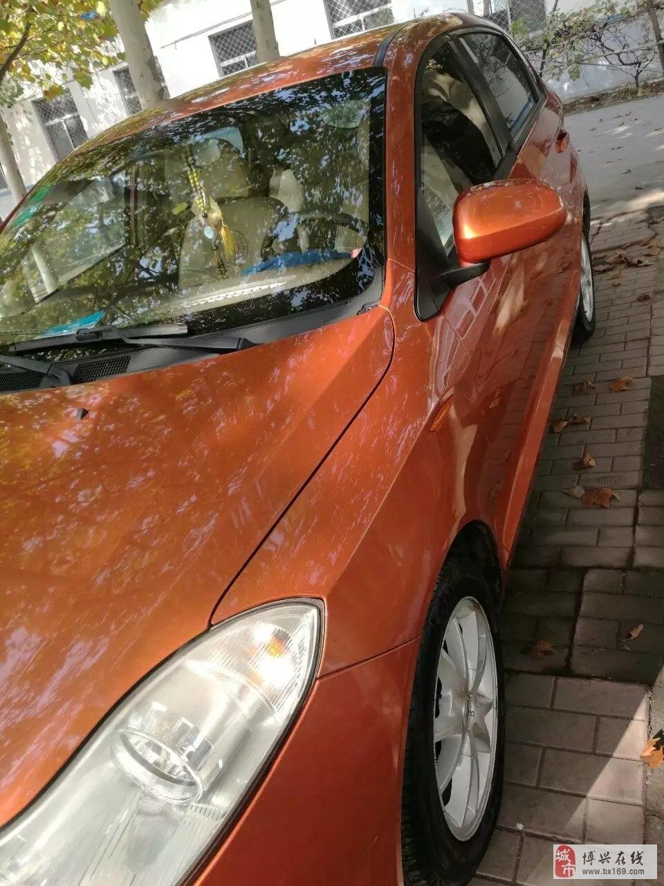 出售自用家庭用车,奇瑞风云2,两厢,1.6L