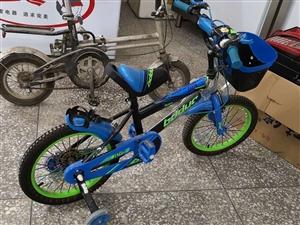 低价出售二儿童自行车两部,适合小学生使用