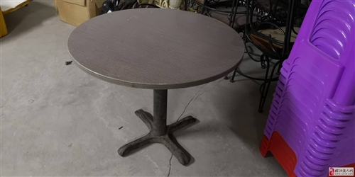 低价出售二手小圆桌一张,