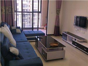 望海国际两房两厅家具家电出租1800