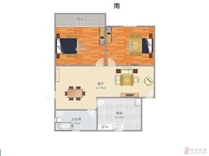 和缘小区2室2厅1卫43.8万元