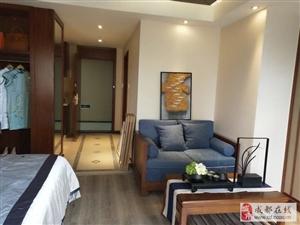 地铁口水电气三通现房公寓精装带租约可以自住可以包租