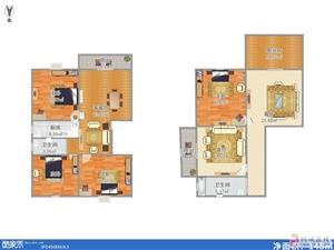 阅城国际花园4室2厅2卫70万元