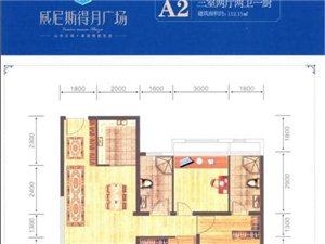 A2三室两厅两卫一厨 112.15�O