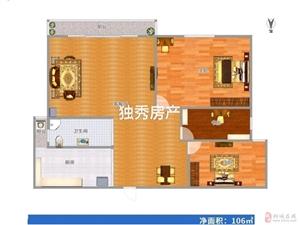 新上金恒公馆新空毛坯三室好楼层视野开阔临近学校