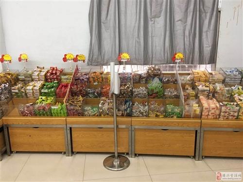 李宅超市门面装修升级货架展示柜低价转让