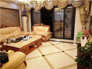 蓝溪国际高层豪华装修,带品牌家具家电,证件满两年