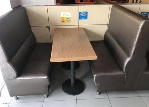 出售汉堡店奶茶店专用餐桌椅