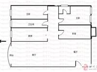 華予金城小區3室2廳2衛精裝修南北通透