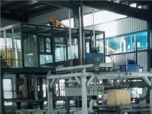 自动化水泥发泡保温板生产线和半自动对比