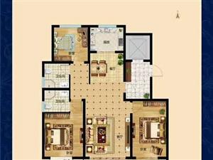 东湖宝瑞134平三室带24平储藏室报价90