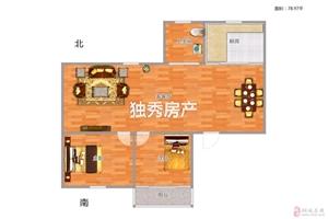 大王小区2室2厅1卫27万元