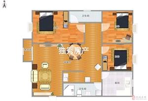 盛世嘉园3室2厅1卫82万元