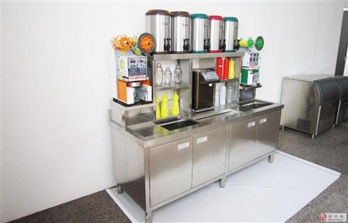 【不锈钢奶茶店水吧台】不锈钢奶茶店水吧台图片、价格