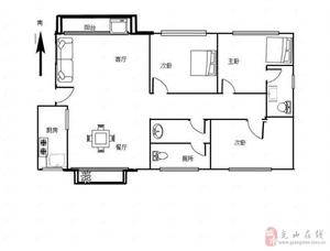 半岛国际城3室2厅2卫86万元