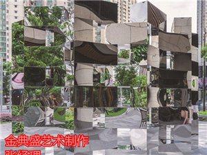 安國城市景觀雕塑不銹鋼園林雕塑周到售后服務