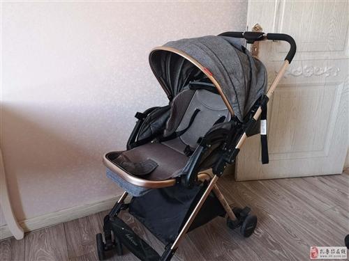 出售九成新貝麗可雙向可坐可躺嬰兒推車